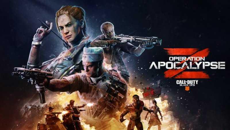 Black Ops 4: полноценный трейлер и подробности операции «Апокалипсис Z»