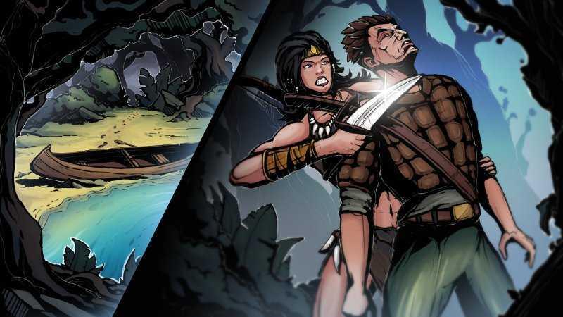 Swordbreaker: Origins. Прекрасный интерактивный комикс