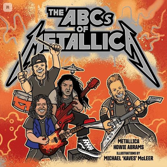 Группа Metallica выпустит свою иллюстрированную азбуку