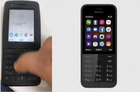 Первый кнопочный Android-смартфон Nokia показали на фото