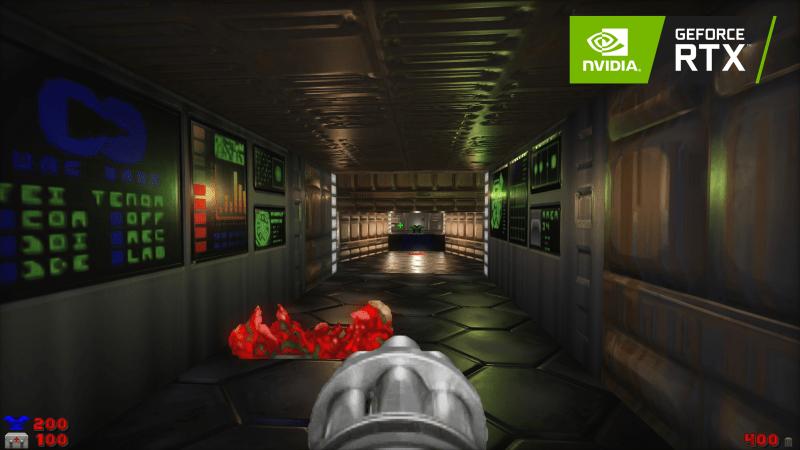Для оригинальной Doom вышла модификация с трассировкой лучей