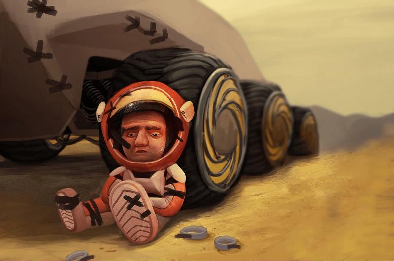 Хроники колониста: Марсианин!