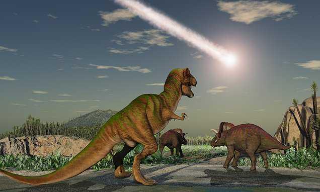 Новая версия исчезновения динозавров