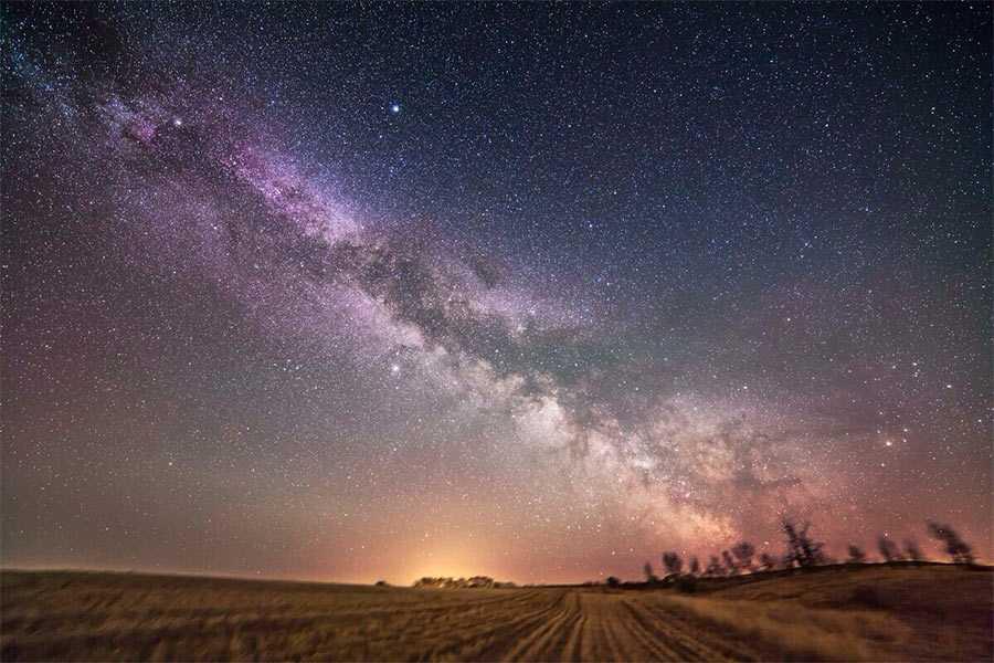 Посмотрите на фотографию Млечного пути, на создание которой ушло 12 лет