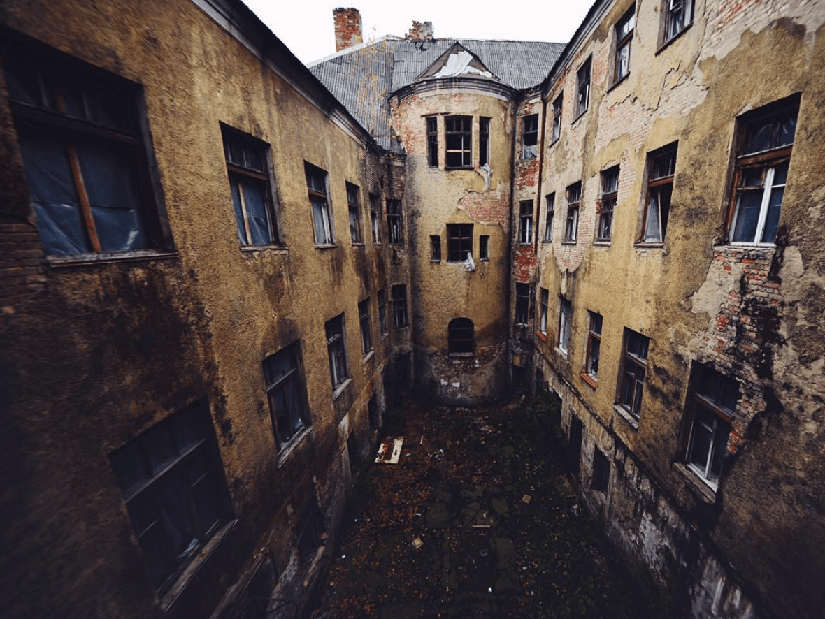 zabroshennaja jantarnaja - 30 заброшенных мест, которые вызовут у вас мурашки по коже (часть 2)