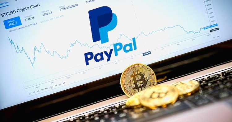 Платежный сервис PayPal запустил оплату покупок с помощью криптовалюты