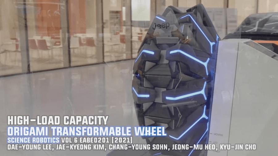 Вездеходные колёса-трансформеры по технологии оригами | ВИДЕО