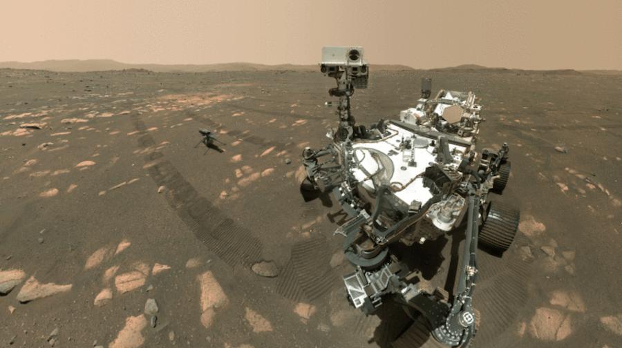 Марсианский прогноз погоды от ровера Perseverance