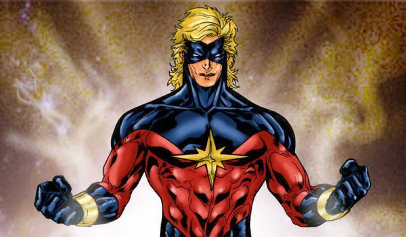 Книжные герои: Капитан Марвел