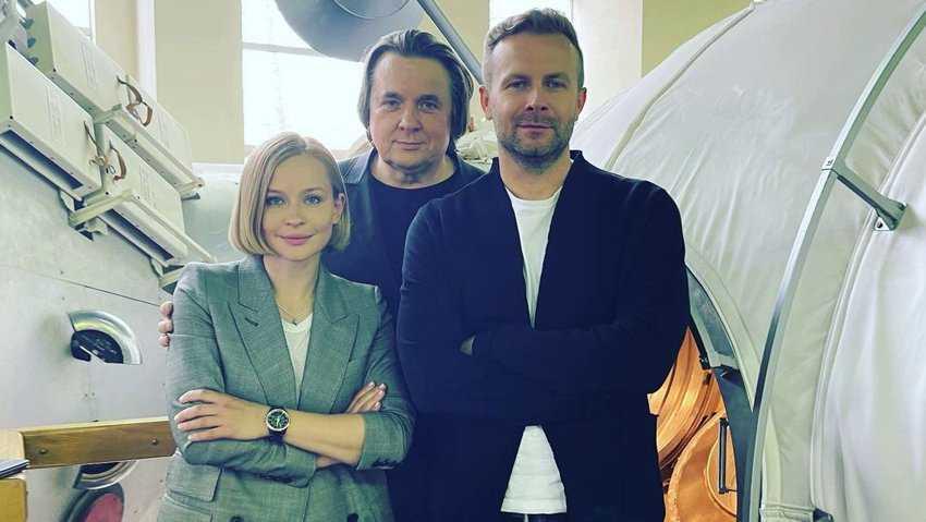 Юлия Пересильд и Клим Шипенко отправятся на МКС для съемок художественного фильма
