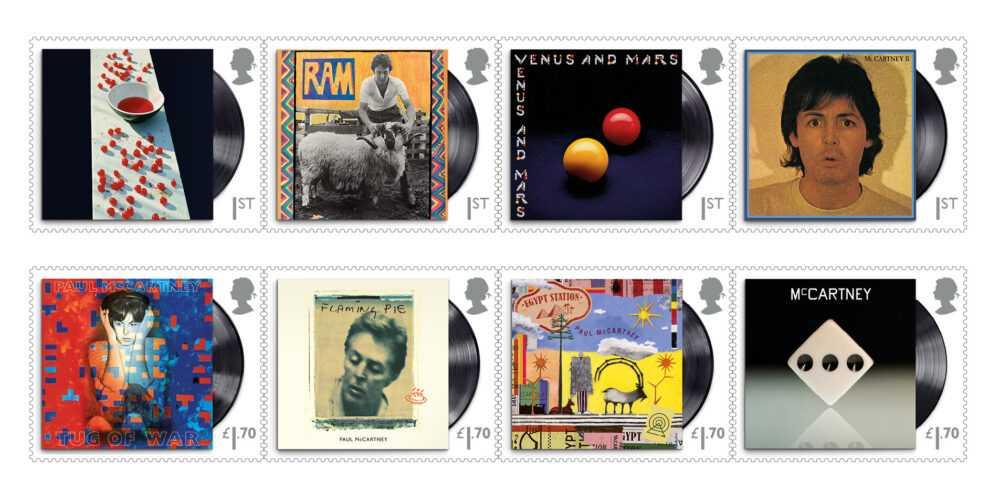 Пол Маккартни и новая коллекция почтовых марок