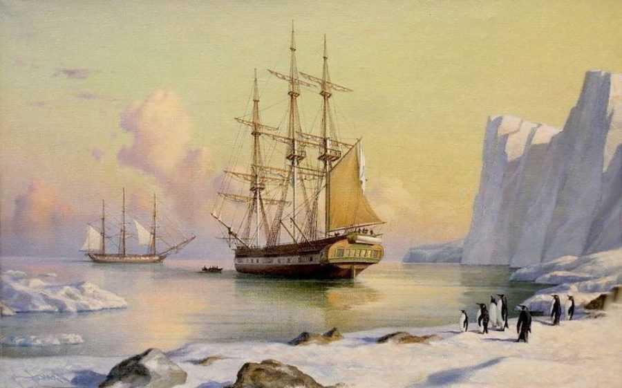 Антарктиду могли открыть за тысячу лет до европейцев