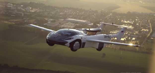 Летающая машина AirCar впервые совершила междугородный перелет