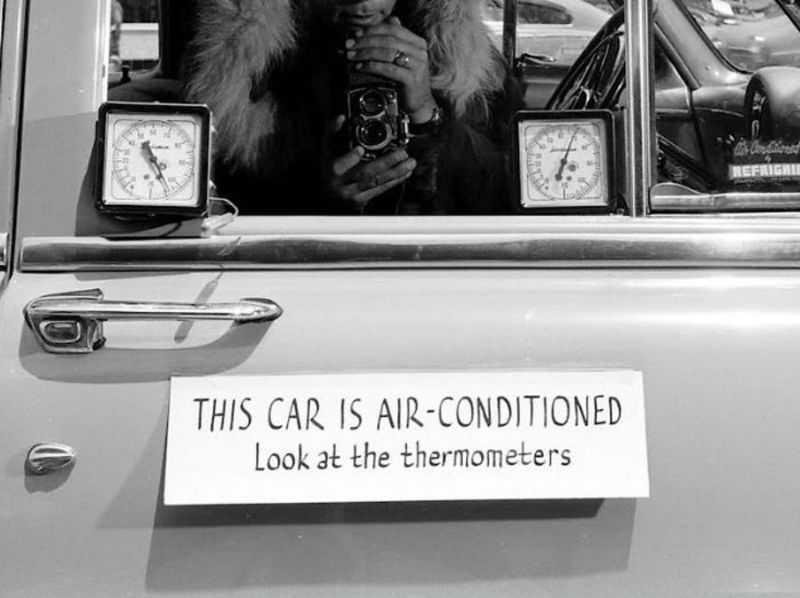 1952 ford air conditioner 2 - Холодный воздух навынос: как охлаждали автомобили до эпохи кондиционеров