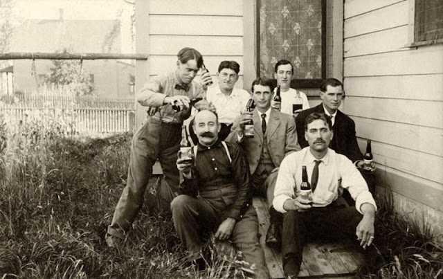 За день до Сухого закона: фото американцев, которые кутят перед запретом алкоголя в 1920-м