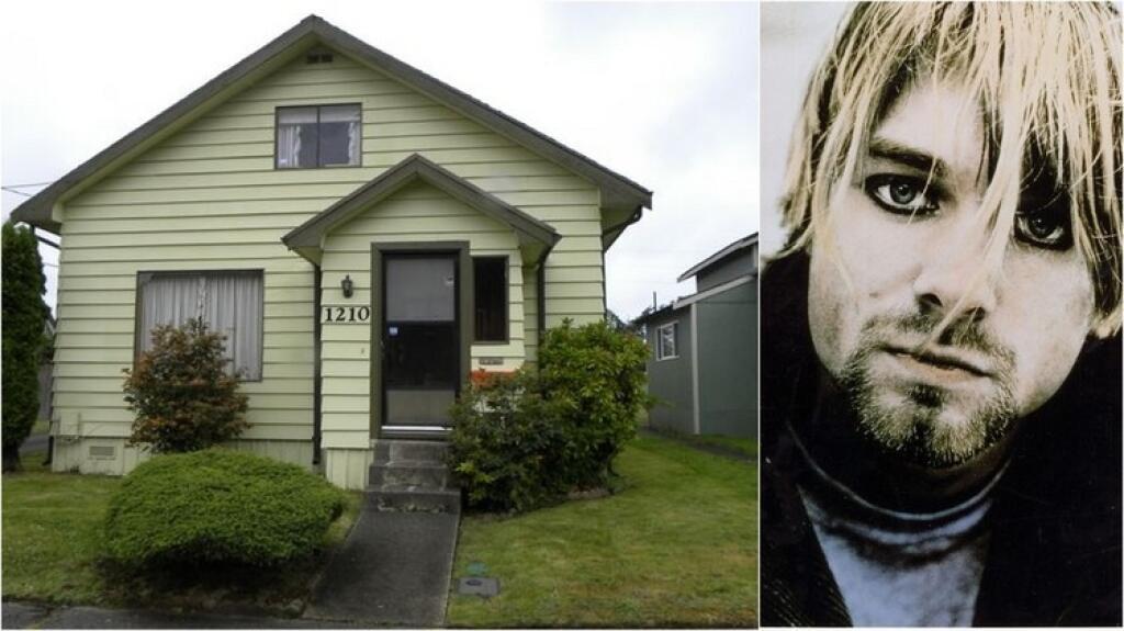 Дом, в котором вырос Курт Кобейн, официально признали памятником