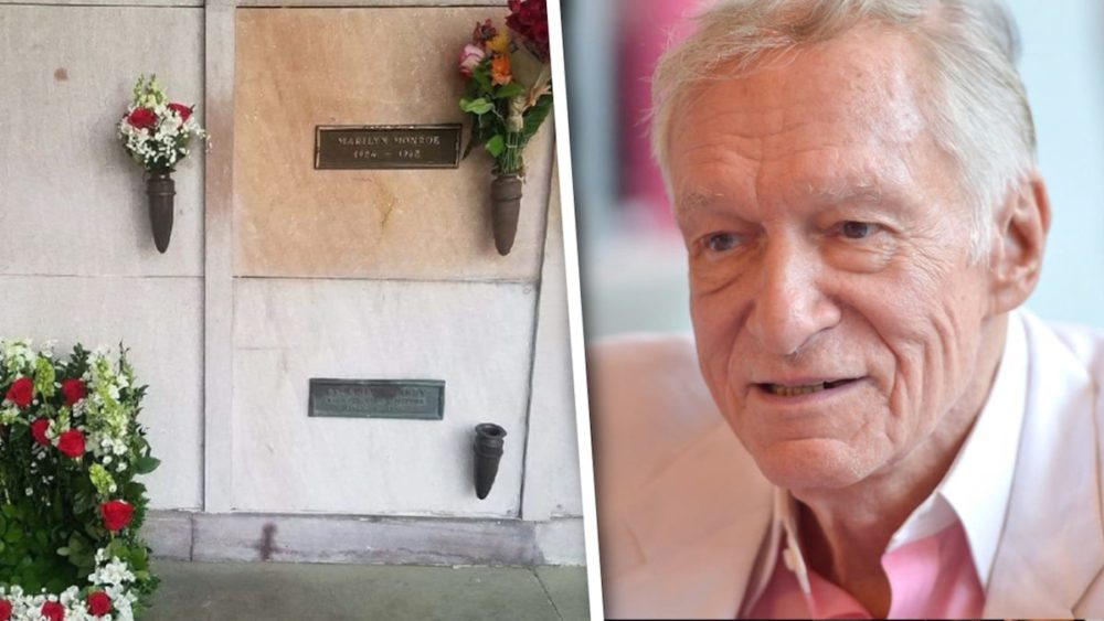Место на кладбище рядом с Мэрилин Монро и Хью Хефнером продают за 2 млн долларов