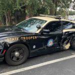 Автопилот Tesla врезался в стоящую на обочине полицейскую машину