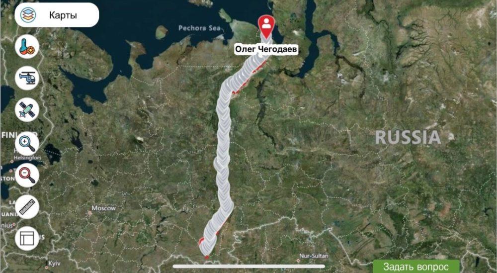 normal 1 - Путешественник из Уфы впервые в истории прошел пешком Уральские горы