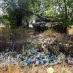 На свалке в Волгограде нашли современный боевой танк