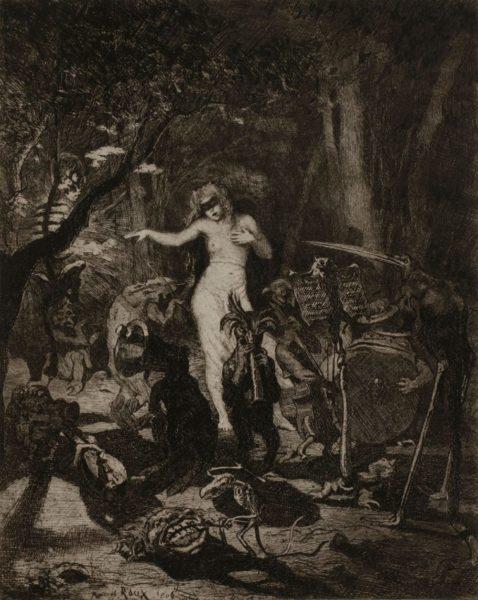 02 marcel roux 1200x1507 1 - Дьявольщина, достойная современных хорроров: картины Марселя Ру (1878-1922)