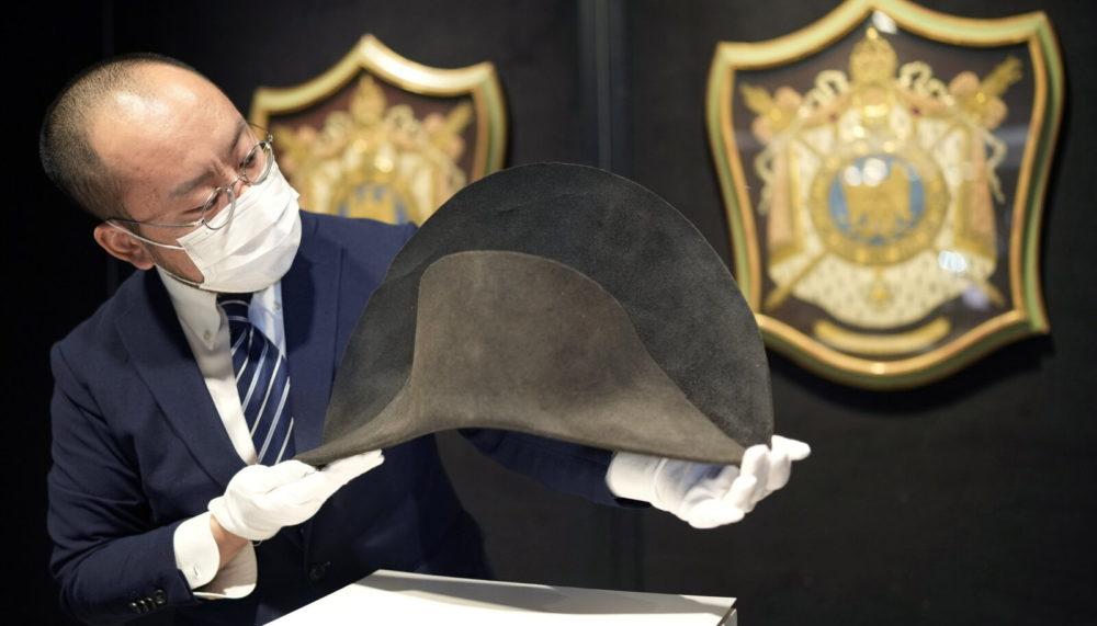 Шляпу Наполеона со следами его ДНК выставили на аукцион за 200 тысяч долларов