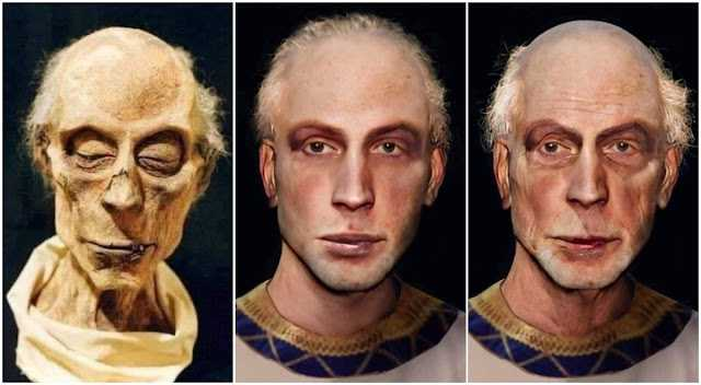 Нейросесть показала, как выглядел фараон Рамсес Великий при жизни