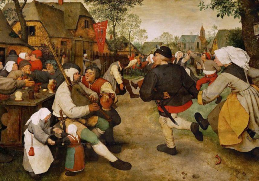 pyanstvo 1 1 1024x717 1 - Красное ибелое, «зеленое» и«жирное»: алкоголь всредневековой Европе
