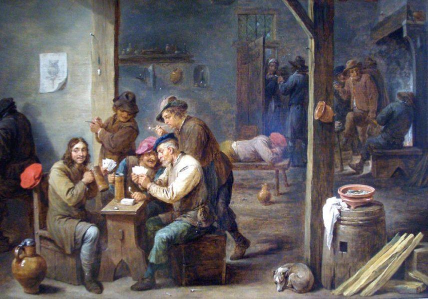 pyanstvo 3 1 1024x717 1 - Красное ибелое, «зеленое» и«жирное»: алкоголь всредневековой Европе