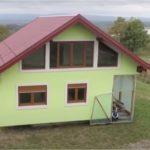 Босниец построил вращающийся дом, чтобы у его жены был разнообразный вид из окна