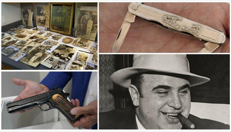 Внуки Аль Капоне выставили его вещи на аукцион