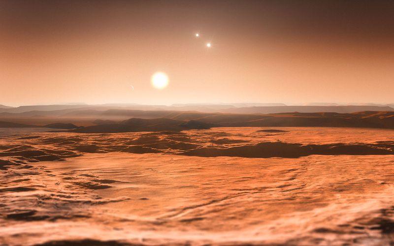 Ученые нашли уникальную планеты с 3 звездами в созвездии Ориона