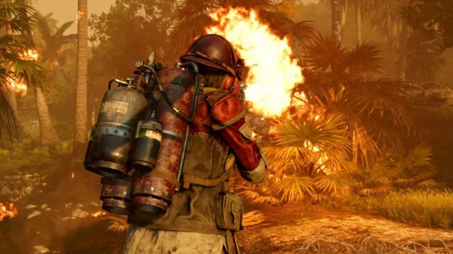 Видео дня: изобретатель Колин Ферз собрал рабочий рюкзак-огнемет из Far Cry 6